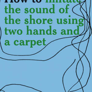 SSS // How to imitate the sound of the shore using two hands and a carpet
