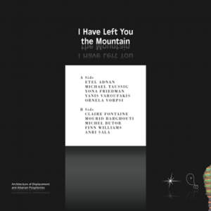 I Have Left You the Mountain