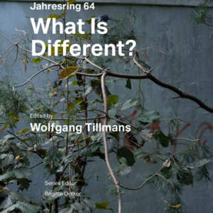 What Is Different? // Jahresring 64