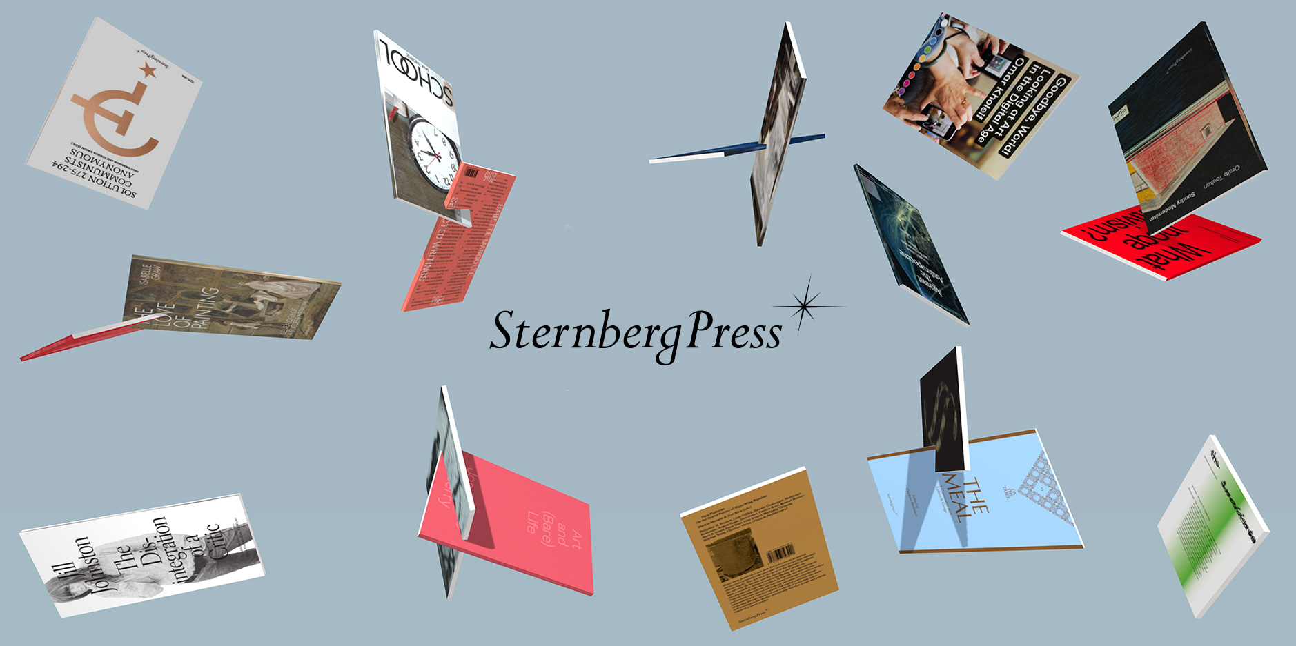 Books Sternberg Press
